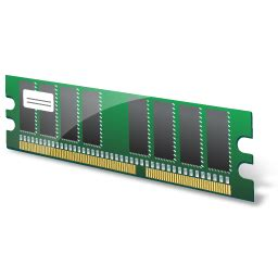 Gold Memory For Your Vista Pc by Memory Module Icon Vista Hardware Devices Icons