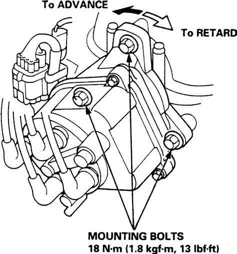 how to ignition timing for a distributor less 1999 acura rl engine how to ignition timing for a distributor less 2008 jeep patriot engine repair guides routine
