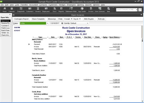 Accounts Receivable Mba Project Report by How To Clean Up Accounts Receivable In Quickbooks