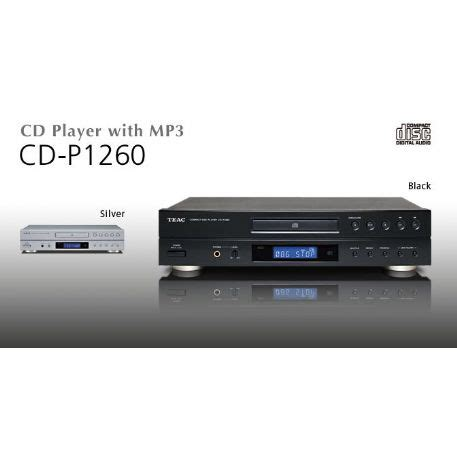 lettore mp3 da tavolo lettore cd da tavolo riproduce cd cd r rw mp3 cdp1260