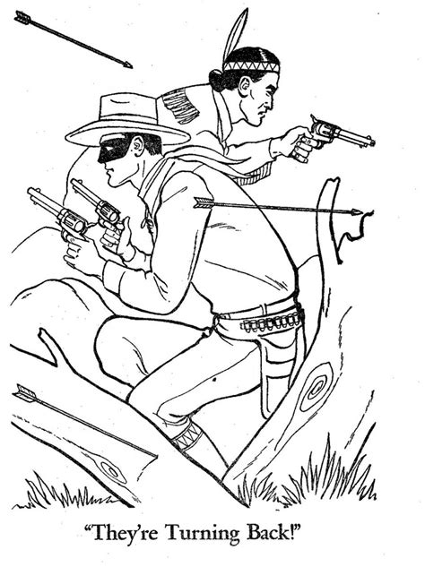Lone Ranger Coloring Pages the lone ranger fan club lr stuff