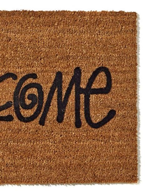 Stussy Doormat by Stussy Quot Welcome Quot Door Mat Available Now Freshness Mag