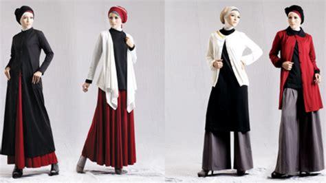 Baju Muslim Kapel baju muslim kapel terbaru gambar model gamis batik