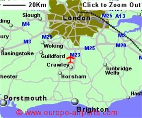 london gatwick airport location map london gatwick airport lgw guide flights