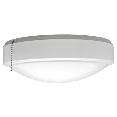 White Ceiling Lights Hton Bay 11 In Warm And Bright White Light Universal Led Ceiling Fan Light Kit 53701101