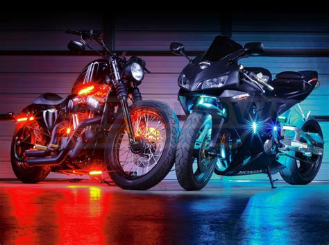 smd led lights for motorcycle ledglow advanced million color motorcycle smd led lights