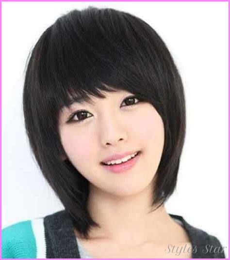 kpop hairstyle for round face korean haircut for girls with round face stylesstar com