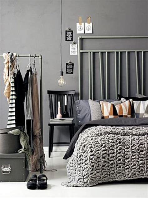Edgy Bedroom Colors A Statement In Your Bedroom 25 Edgy Industrial