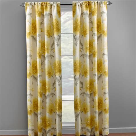 Yellow Gray Curtains Gray And Yellow Baby Curtains Pictures To Pin On Pinsdaddy
