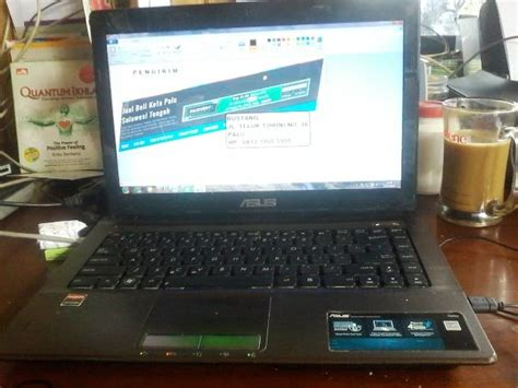 Laptop Asus X43u Second jual laptop acer 4749z second murah di kota palu jual