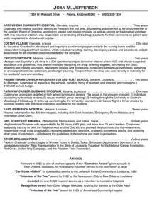 Best Volunteer Resume by Hospital Volunteer Resume Example 106 Latest Resume Format