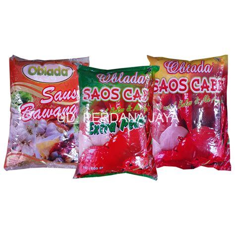 Saos Sambal Oblada jual saos sambal oblada harga murah bekasi oleh ud