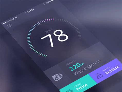 incredible mobile ui animations  gifs  design