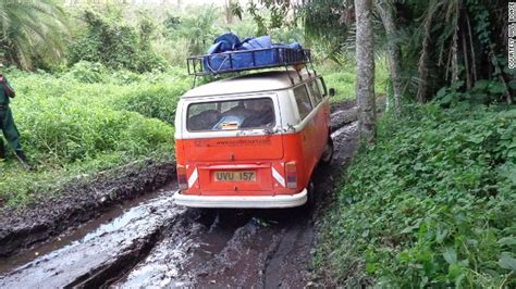 maintenance department while the kids were off of school the wall has kombis reincarnated as tour buses in uganda cnn com