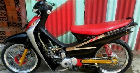 Supra Fit 2004 W Sidoarjo modifikasi motor modifikasi supra fit 200cc