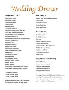 Marvelous Restaurants That Cater Weddings #3: Wedding-catering-menu-f613-pg2.jpg
