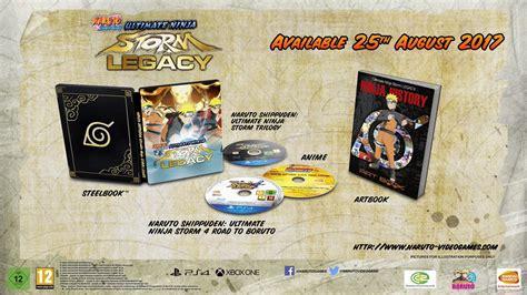 Kaset Ps4 Shippuden Ultimate Legacy shippuden ultimate legacy et trilogy sortiront le 25 ao 251 t avec des bonus