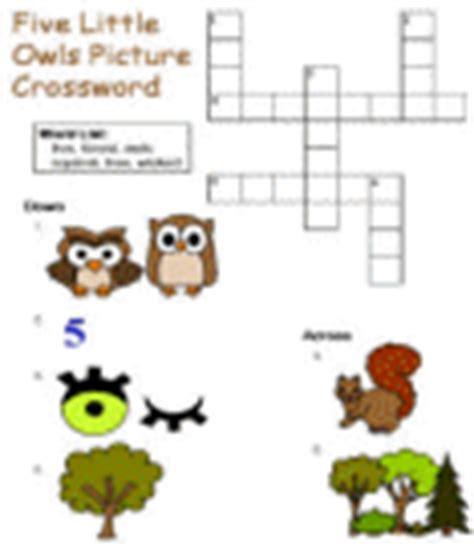 printable owl puzzle five little owls