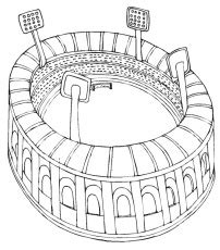 la kings symbol az coloring pages