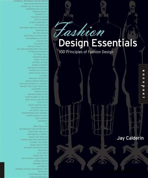 layout essentials 100 design principles pdf fashion design essentials 100 principles of fashion