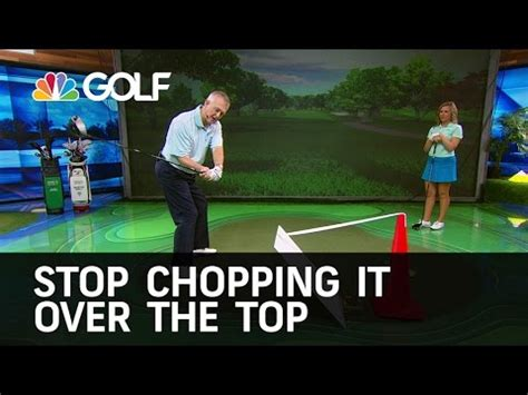 prevent over the top golf swing stop golfy