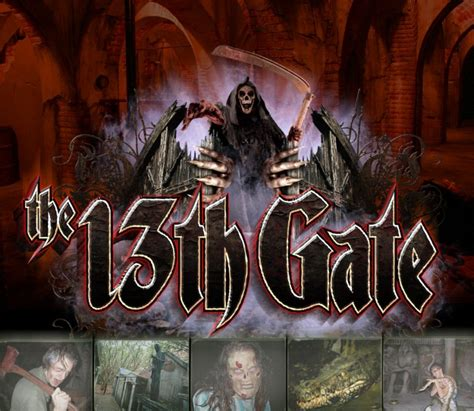 13th Gate Haunted House by Top 10 Scariest Haunted Houses In America
