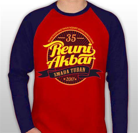 Kaos Distro Merah Logo Keren kaos percetakan undangan di malang