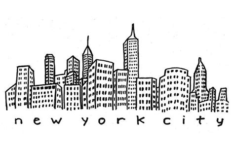 1000 images about 3dpaint on new york skyline vector vector and nyc skyline