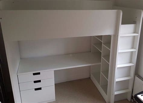 ikea desk storage ikea stuva loft bed frame with desk drawers and bed