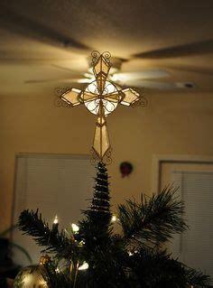 capiz hearts cross tree topper crosses   symbol   faith diy christmas tree topper