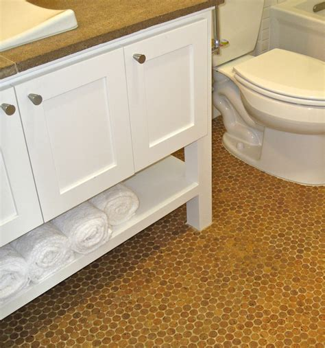 idea for bathroom cork floor in bathroom eco friendly and durable bathroom