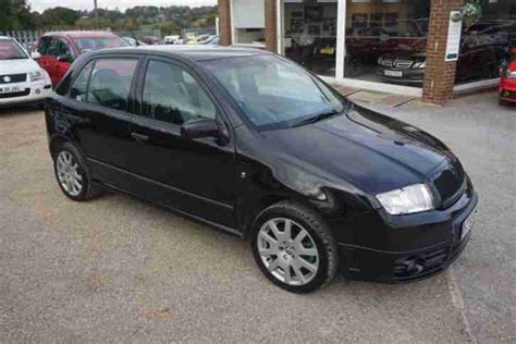 skoda fabia vrs diesel skoda fabia vrs tdi 5dr diesel manual 2006 55 car for sale