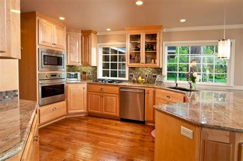 Granite Home Design Oxford Reviews traditional kitchen with crown molding by home