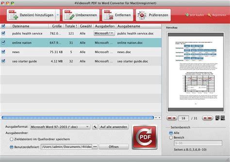 convert pdf to word mac pdf to word converter f 252 r mac pdf in word auf mac umwandeln