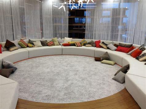 divani circolari foto i nuovi pazzi uffici di londra 2 di 10
