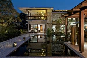 Houses With Courtyards In The Middle Timeless Contemporary House In India With Courtyard Zen Garden Idesignarch Interior Design