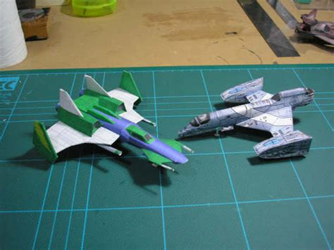 Papercraft Spaceship - papercraft wing commander spaceships boing boing