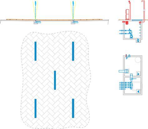 fontane a pavimento impianto fontana a pavimento waterwall