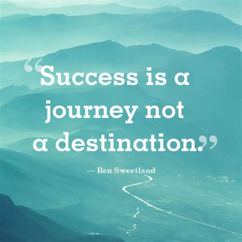 Short Positive Quotes 'Success is a Journey, Go with all ...