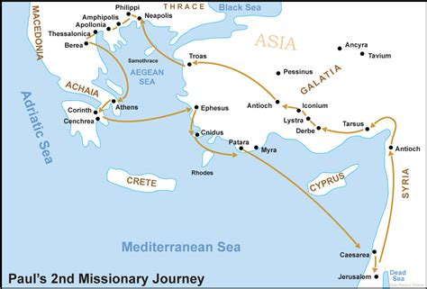 Pauls Journeys Outline by Ephesians Bible Study Resources Wednesday In The Word