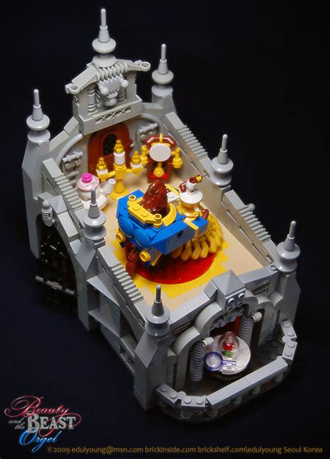amazon com beauty and the beast music box relax wave fully functional beauty and the beast lego music box the