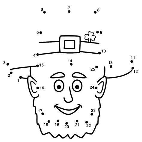 faces big book of dot to dot from 160 to 510 dots dot to dot for adults volume 7 books leprechaun connect the dots count by 1 s st