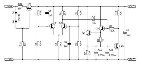 capacitance multiplier jlh diyhifi org view topic cap multiplier