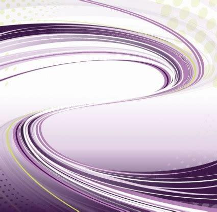 Ai Ungu latar yang berwarna ungu dengan mengalir garis vektor
