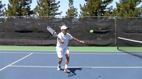 swinging volley tennis swinging volley tennis 28 images tennis backhand