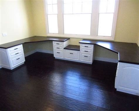 Modern Home Office Built In Desk Design Pictures Remodel Modern Built In Desk