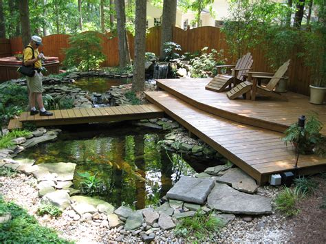 Formal Front Yard Landscaping Ideas - terrific koi pond and great place to enjoy nature lauren jolly roberts flickr