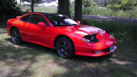 dodge stealth red sell used 1993 dodge sealth twin turbo all wheel drive r