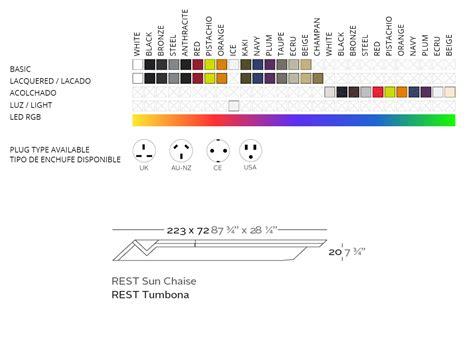 Chaise Longue En Teck 874 by Vondom Rest Tumbona Sun Chaise Longue Design