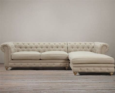 restoration hardware tufted linen sofa 72 best sectionals sofas chairs images on